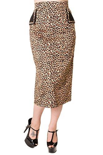 Banned-Vintage-Pencil-Skirt-Black-Red-Leopard-Print-or-Tartan