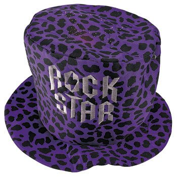 Light-Up Rock Star Hat