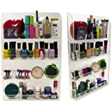 Nail Polish Wall Rack- Acrylic Organizer and Display by D'Eco