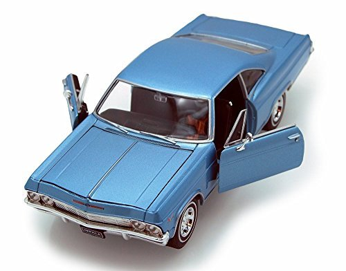 Welly-1965-Chevy-Impala-SS396-124-Scale-Diecast-Model-Car-Blue