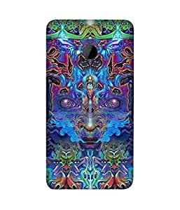 Electric Face Htc One M7 Case