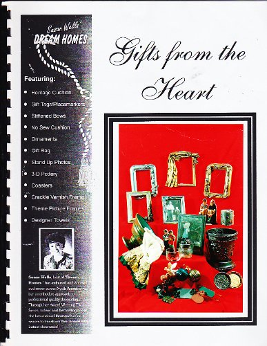 Gifts From The Heart Featuring Heritage Cushion-Gift Tags/Placemats-Stiffend Bows-No Sew Cushion-Ornaments-Gift Bag-Stand Up Photos-3-D Pottery-Coasters-Crackle Varnish Framestheme Picture Frames-Designer Towels