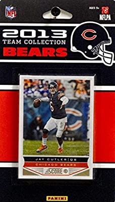 2013 Score Chicago Bears Factory Sealed 8 Card Team Set