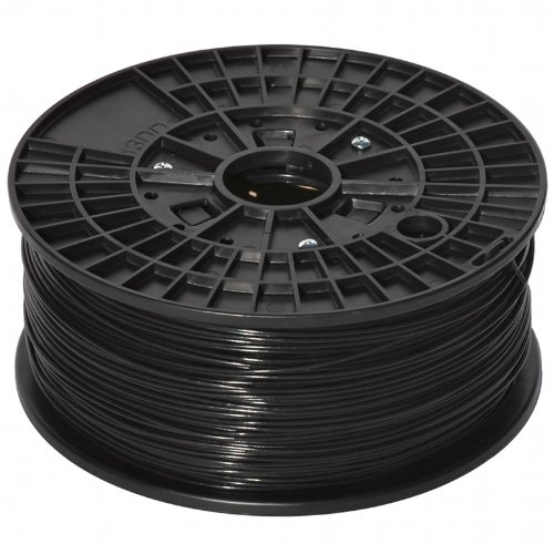 justabs - Black 1.75mm ABS Filament for 3D Printers (1kg/2.2lbs)