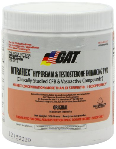 Gat Nitraflex Watermelon, 300 Gram