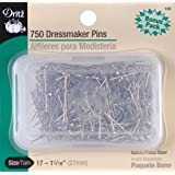 Dritz Dressmaker Pins, Size 17, 750-Pack