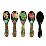 Wholesale Pack Handpainted Assorted Butterfly Handheld Mirror (Set Of 12)