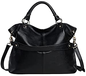 Heshe 2014 Fashion Hot Sell Women's Soft Genuine Leather Collection Top-handle Cross Body Shoulder Bag Satchel Tote Handbag