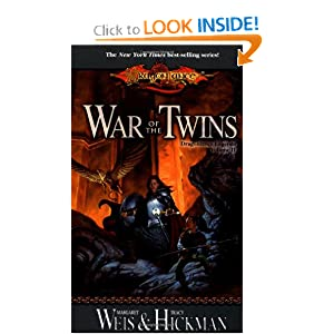 War of the Twins (Dragonlance Legends, Vol. 2) by Margaret Weis and Tracy Hickman