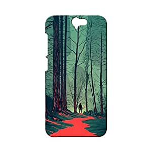 BLUEDIO Designer Printed Back case cover for HTC One A9 - G0512