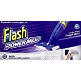 Flash Power Mop Refill Pads Box of 8 x12 pads