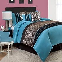 Realtree AP Black Camo 5 Pc TWIN Comforter Sham  /& AP White Camo Sheet Set