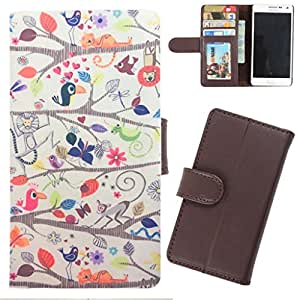 DooDa - For Samsung Galaxy On5 PU Leather Designer Fashionable Fancy Wallet Flip Case Cover Pouch With Card, ID & Cash Slots And Smooth Inner Velvet With Strong Magnetic Lock