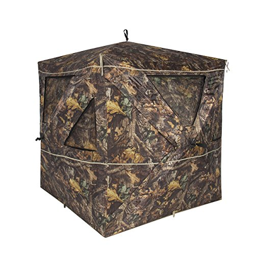 Best Choice Products 2-3 Person Blind Ground Deer Archery Outhouse Hunting Tent, Camouflage