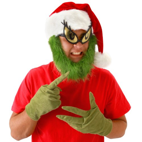 Dr. Seuss Grinch Gloves Costume Accessory