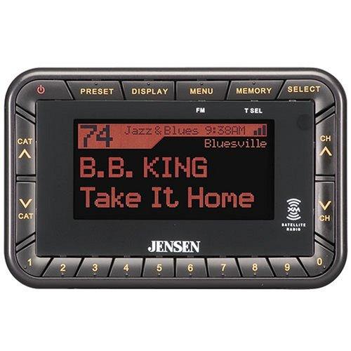 Jensen JXR9 XM Satellite Radio Mobile Combo Pack