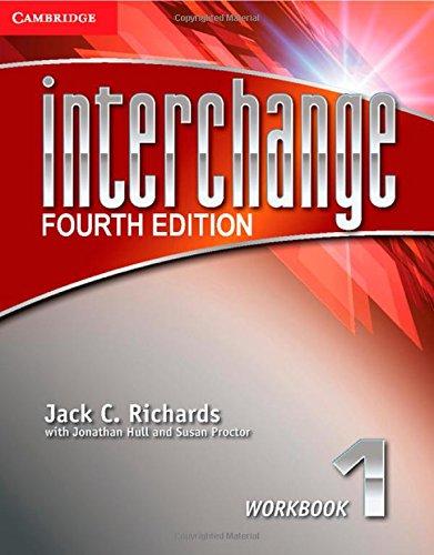 Interchange 4th  1 Workbook (Interchange Fourth Edition)