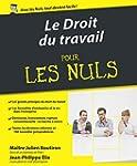 Le Droit du travail pour les Nuls, 3e...