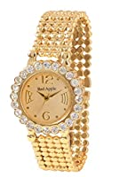Red Apple Analogue Gold Dial Watch for Women- RA000018