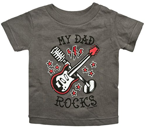 Kid'S Sourpuss Clothing My Dad Rocks Tee 12M