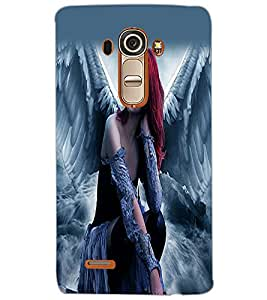 LG G4 ANGEL GIRL Back Cover by PRINTSWAG