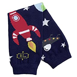 BabyLegs Baby-boys Infant Galaxy Legwarmer, Navy Combo, One Size