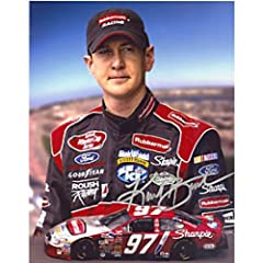 Kurt Busch Autographed Signed Racing 8x10 Photo by Hollywood Collectibles