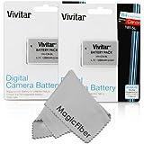 (2 Pack) Vivitar NB-5L Ultra High Capacity 1200mAh Li-ion Batteries for CANON PowerShot S110, SX230 HS, SX210 IS, SD790 IS, SX200 IS, SD800 IS, SD850 IS, SD870 IS, SD700 IS, SD880 IS, SD950 IS, SD890 IS, SD970 IS, SD990 IS (Canon NB-5L Replacement)