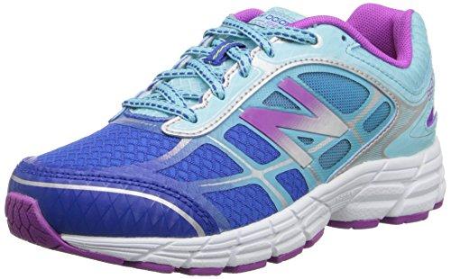 New Balance Kj860 Youth Lace Up Running Shoe (Little Kid/Big Kid), Blue/Purple, 4.5 W Us Big Kid
