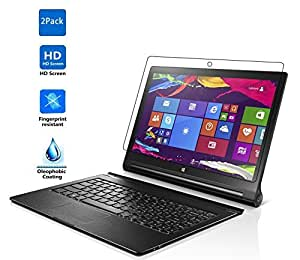 【2枚パック】【VSTN】Lenovo Yoga Tablet 2 Pro 13.3 インチ tablet 専用保護フィルム 超薄型 高透過率 指紋防止 高光沢 液晶保護フィルム (Lenovo Yoga Tablet 2 Pro 13.3 インチ tablet, 保護フィルム)