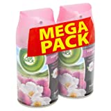Air Wick Freshmatic Max Twin Refill Yorkshire Dales White Rose and Pink Sweet Pea 250 ml (Pack of 2)