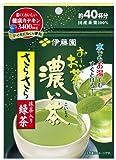 伊藤園 おーいお茶 濃い茶 さらさら抹茶入り緑茶 32g