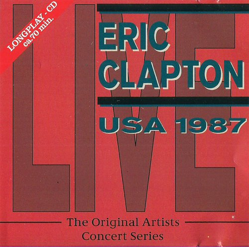 American Tour 1987 (CD Album Eric Clapton, 9 Tracks) by Eric Clapton, Stevie Ray Vaughan and Etta James