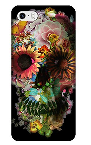 Phone Cases Design With Skull Human Skeleton Special Fashion For Cell Phones iPhone 5C No.11