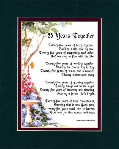 25th anniversary quotes and poems quotesgram for 25th wedding anniversary poems