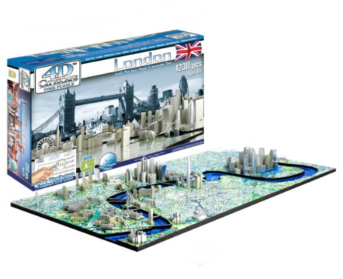 Cheap 4D Cityscape 4D London Skyline Time Puzzle (B0041O40EI)