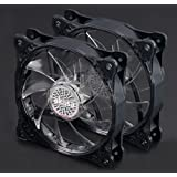 Akasa Vegas X7 LED fan 120mm - Multi-Color 2 Pack