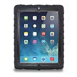 Gumdrop Cases Drop Tech Series Case for Apple iPad 2- Black-Black