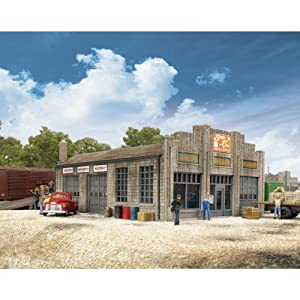 "Walthers Cornerstone Series&#174 N Scale State Line Farm Supply 3-1/4 x 4-1/4 x 1-7/8"" Ramp: 1-3/16 x 4-7/8"" at Sears.com"