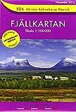 Fjällkartan 1 : 100 000 BD6 Abisko - Kebnekaise - Narvik Bergwanderkarte