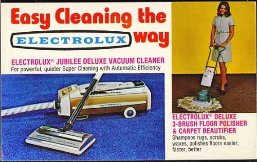Electrolux Vacuum Cleaner (Color Advertising Postcard)