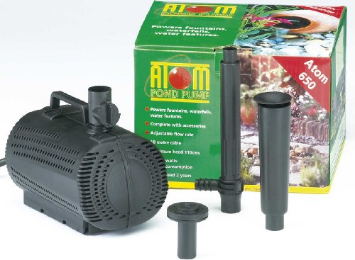 Atom 650 Pond Water Pump Fountain Water Fall Feature