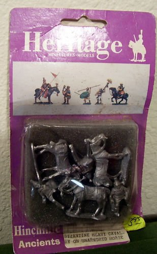 Heritage 3097 25mm Ancient Romans Byzantine Heavy Cavalry on Unarmored Horse