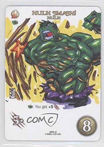 Hulk (Trading Card) 2015 Upper Deck Marvel 3D Legendary Playable Sketch Cards #8 (2015 Marvel Cards compare prices)