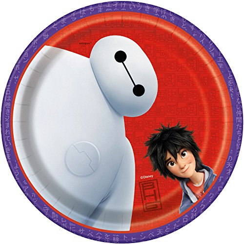 Big Hero Dessert Plates [7 inchs - 8 Per Pack]