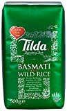 Tilda Basmati and Wild Rice 500 g (Pack of 5)