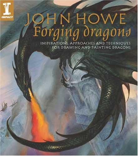 John Howe Drawings John Howe Forging Dragons