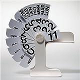 DANESE(ダネーゼ) 卓上万年カレンダー Ti ホワイト