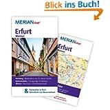 Erfurt Weimar: MERIAN live! - Mit Kartenatlas im Buch und Extra-Karte zum Herausnehmen