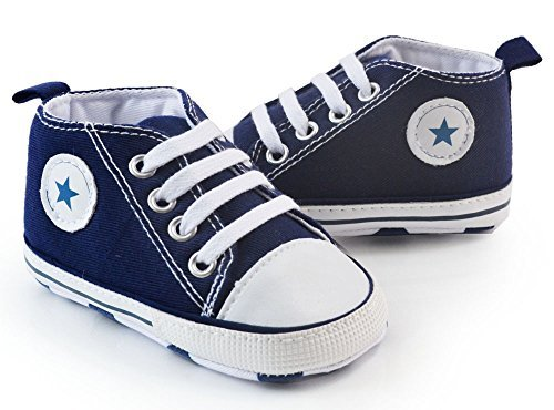 Itaar Prewalker Infant Sweet Canvas Sneaker Anti-skid Soft Shoes Trainer 3-18 Months